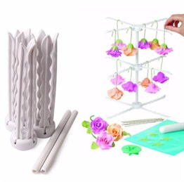 Gum Paste Flower Rack Şekillendirici 3 lü